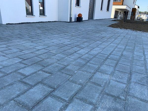 Pflastersteine betongrau 16×24×8cm