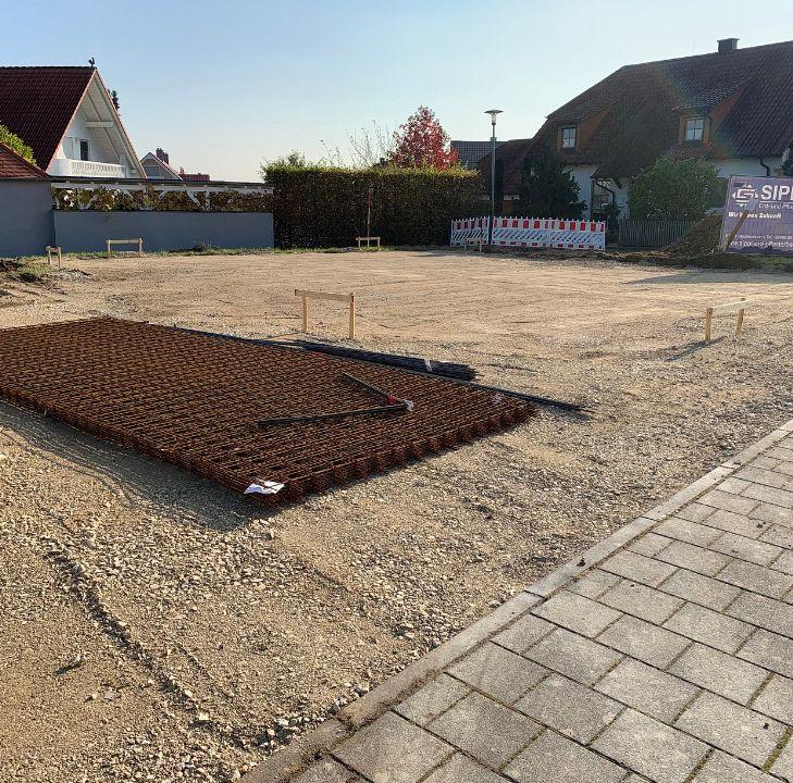 Unterbauarbeiten für eine Bodenplatte und Kanalarbeiten