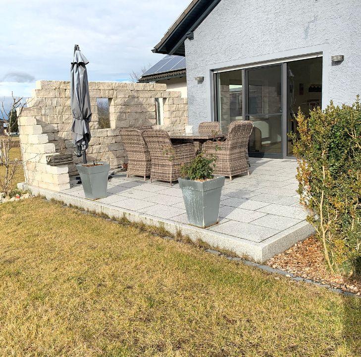 Außenanlagen für ein Mehrfamilienhaus